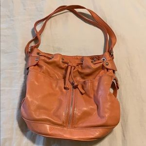 Garnet Hill Leather Bag MADE IN ITALY